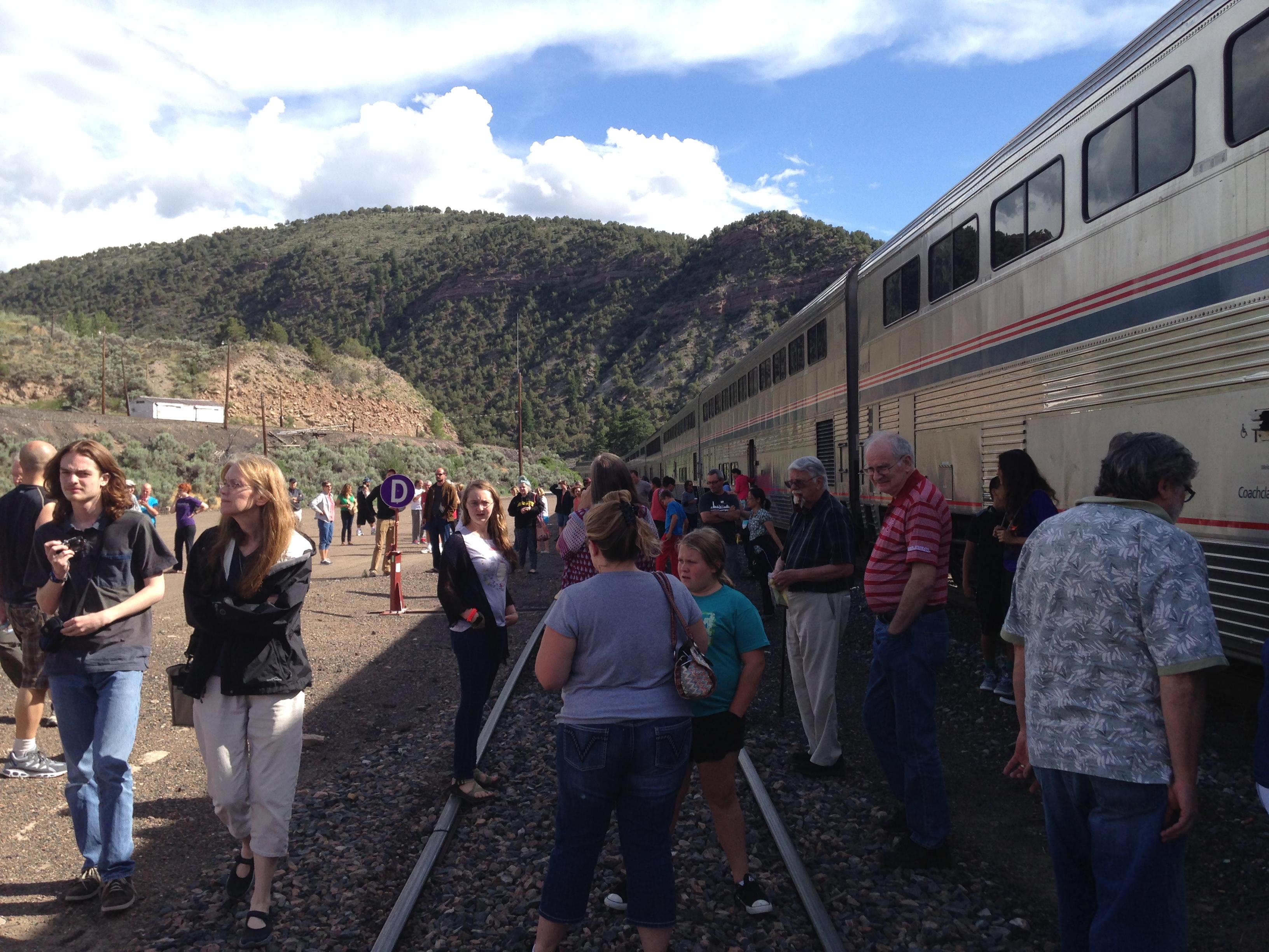 Amtrak Mooning Pictures the great train adventure/nightmare: denver to glenwood